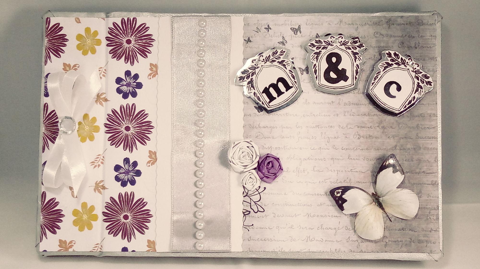 Libro de firmas para boda personalizado – Libro de firmas estilo fashion