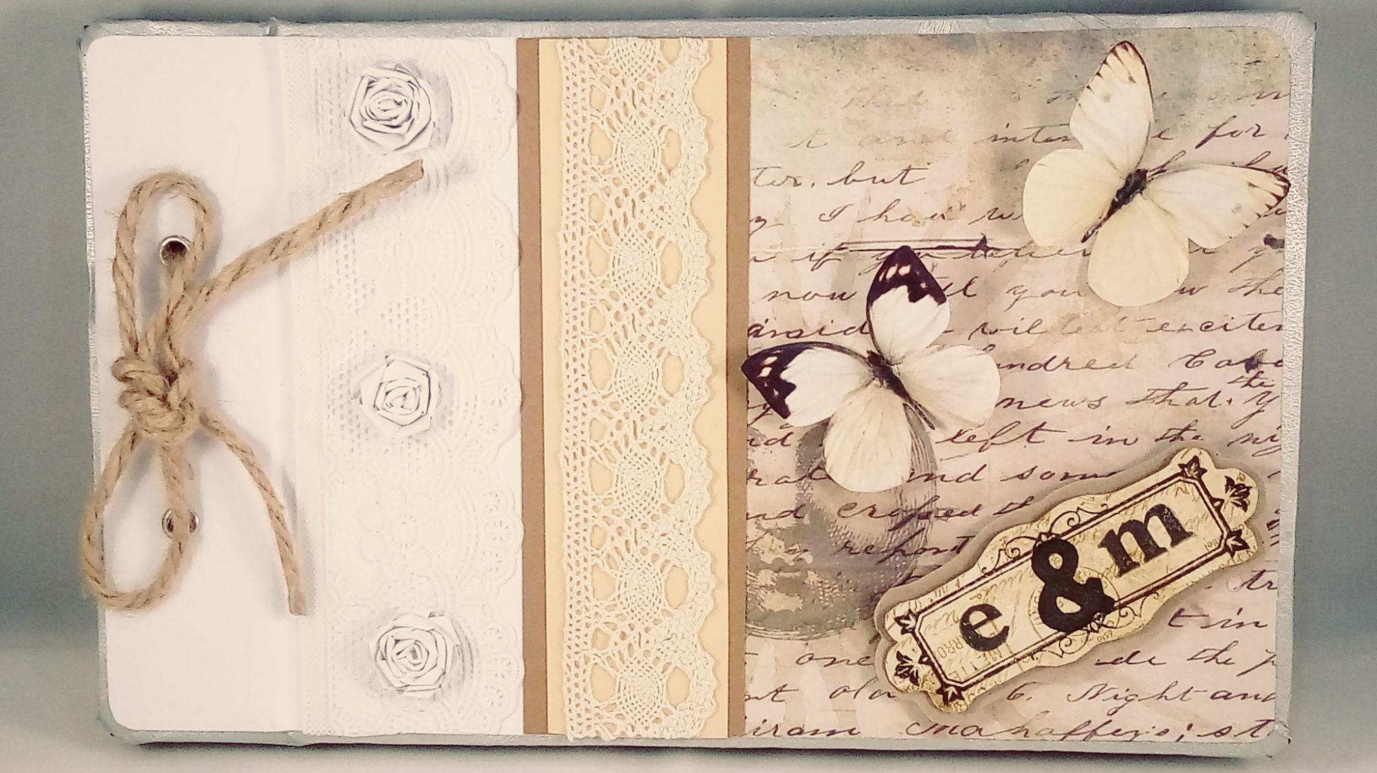 Libro de firmas para boda personalizado – Libro de firmas estilo vintage