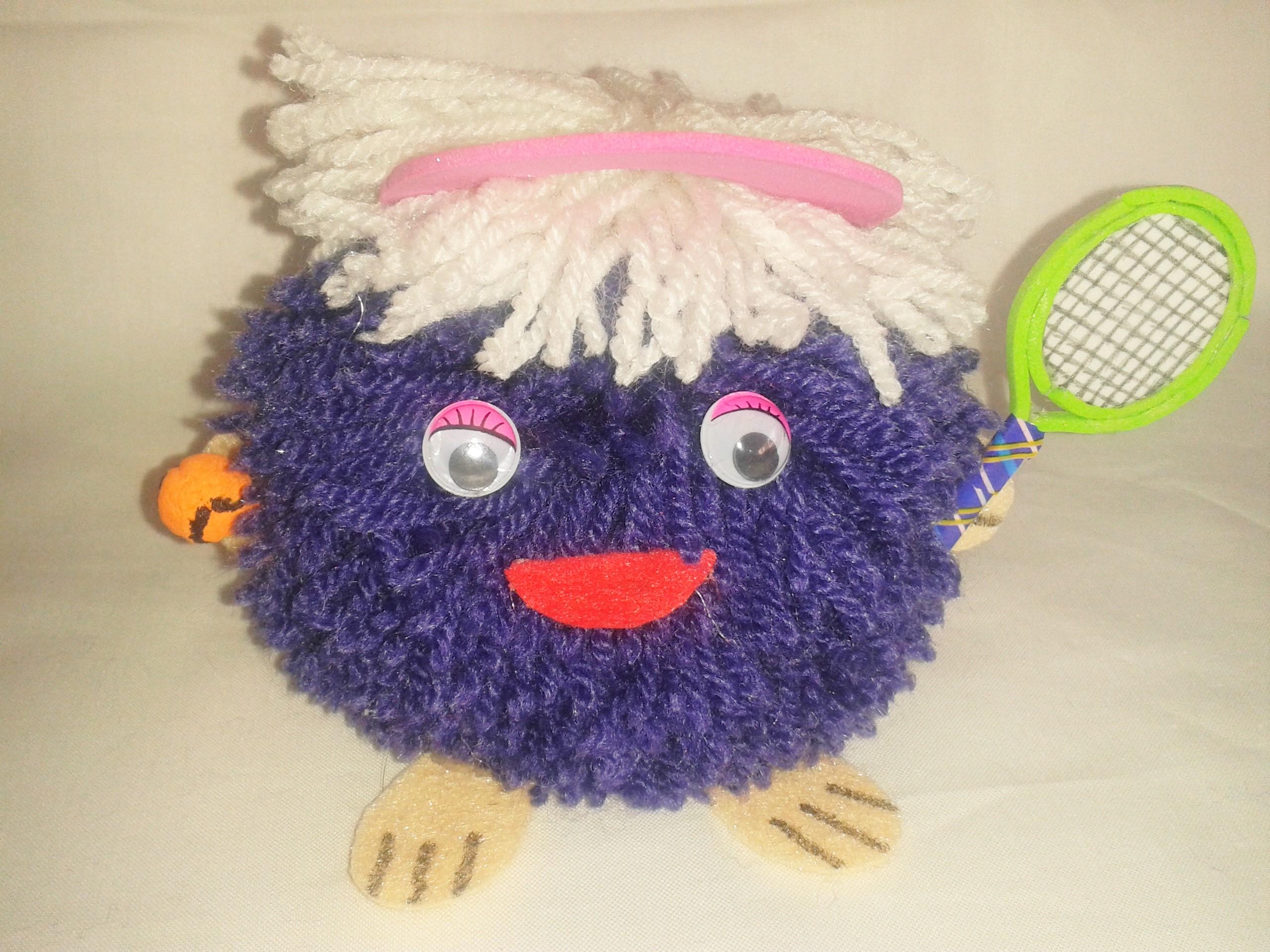 Muñecos Soke pareja de tenis