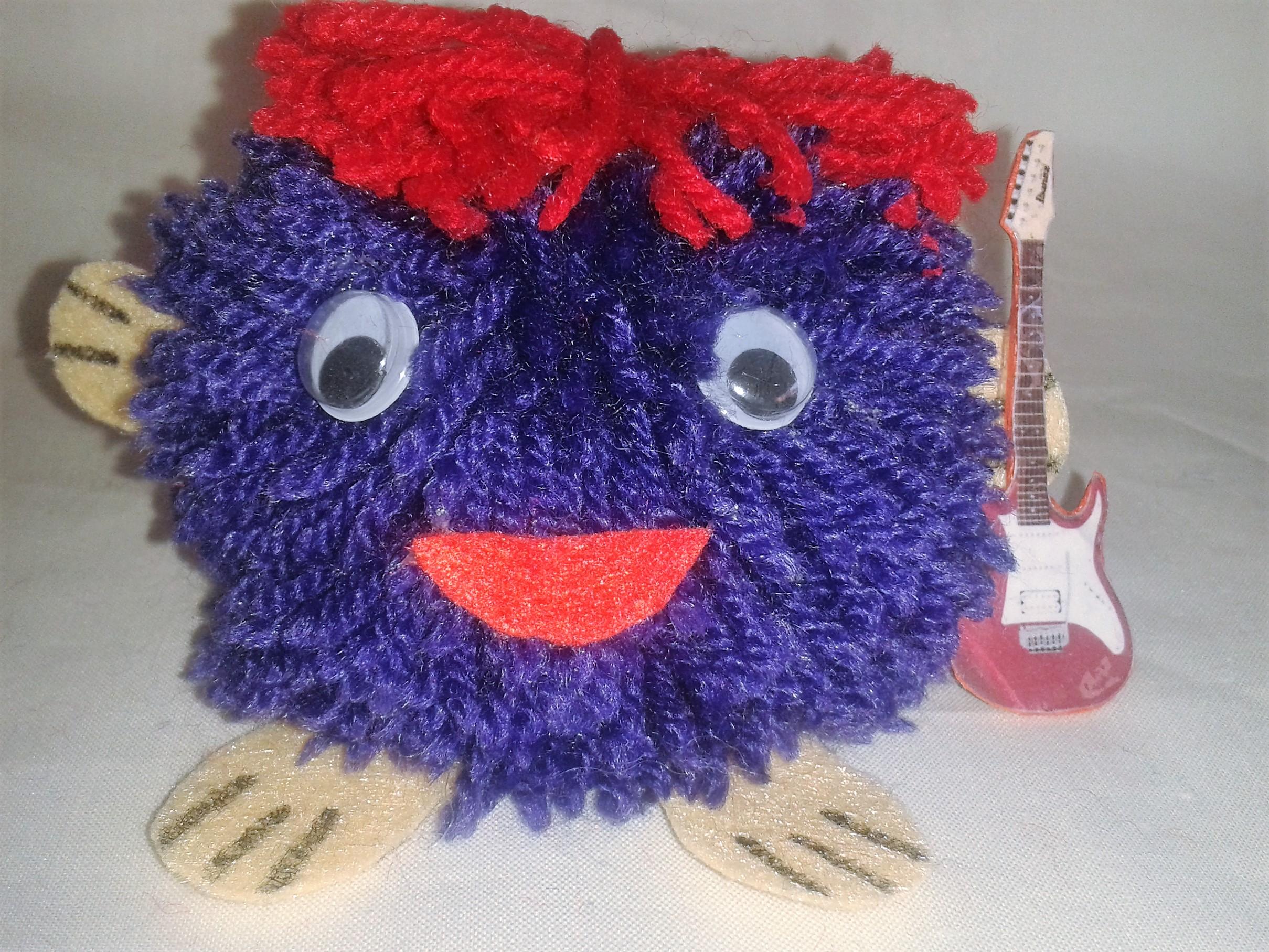 Muñecos Soke guitarrista