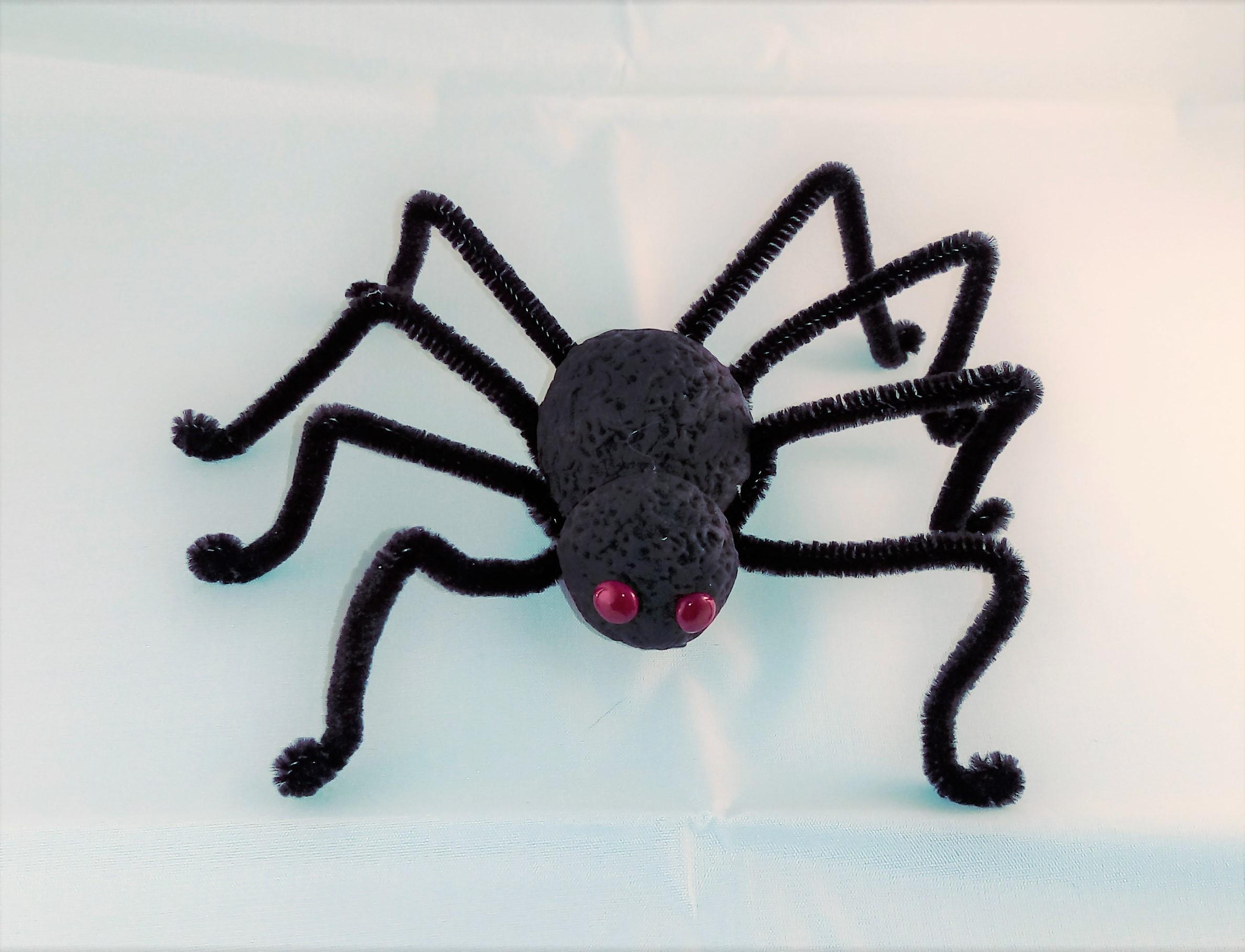 Pinza araña para el pelo   Halloween