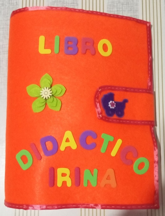 Libro didáctico – Libro sensorial- Libro de actividades- Libro educativo- Quiet book